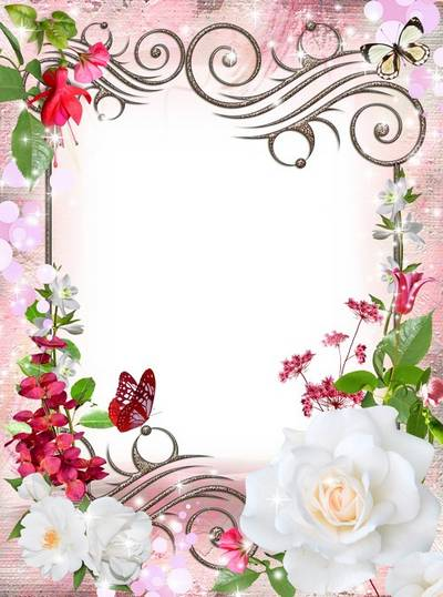 Flower frame - Summer herbs flavor