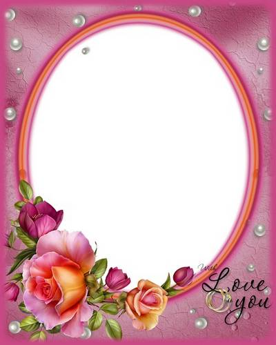 Wedding frame - Be always with me,my love