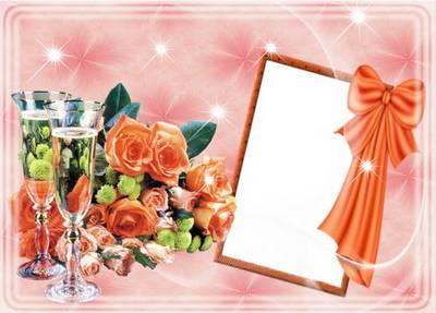 Wedding photoframe - Love and tenderness