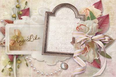 Vintage Photoframe - Happy Birthday