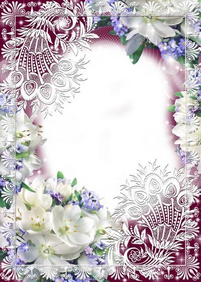 Photo Frame - In the delicate lace
