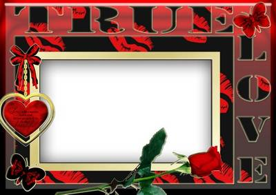 Photo Frame in love - True  love