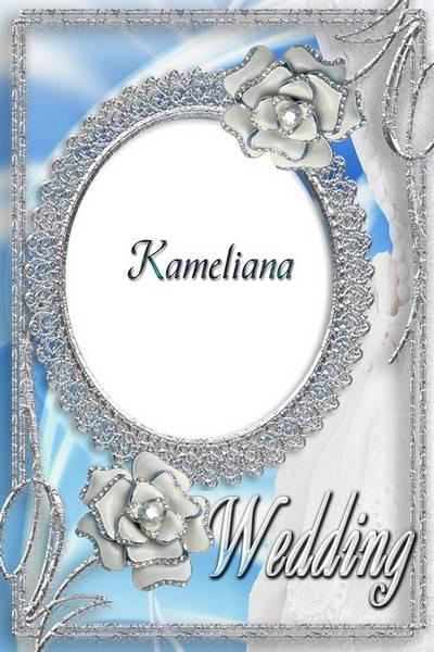 Wedding season from Kameliana- Wedding photo frame png template № 11 - Wedding