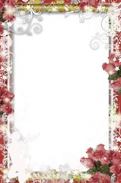 Collection of PNG frames - symbol of the flower