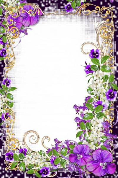 Frame for women on 8 March - Holiday