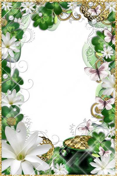 Women's Frame for Photoshop - Floral fragrance