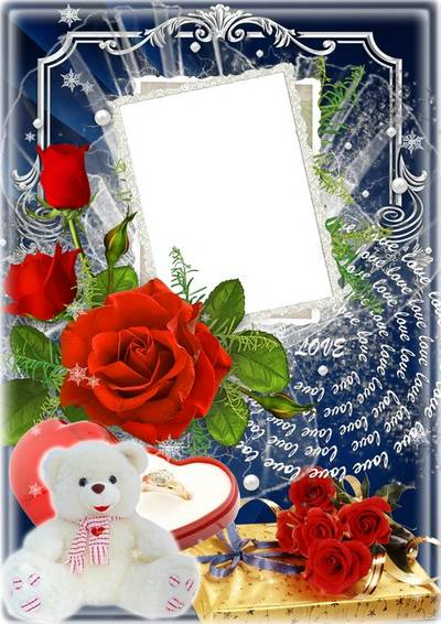 Festive frame for photo - Gifts for the favorite