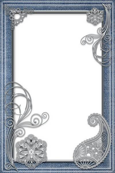 Frame for Photoshop - Style and Denim