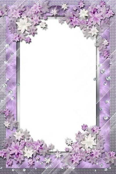 Women Photo Frame - Flower Charm