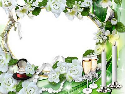 2 Wedding frames - a Heart to bride its present