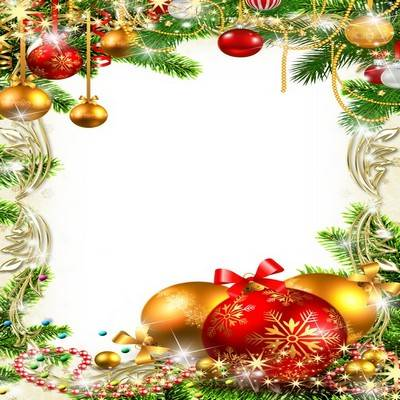 Bright festive frame for photo processing - New Toys