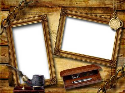 Vintage Frame - Man's Attributes