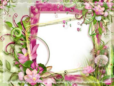 PSD Photo frame - Summer Memories