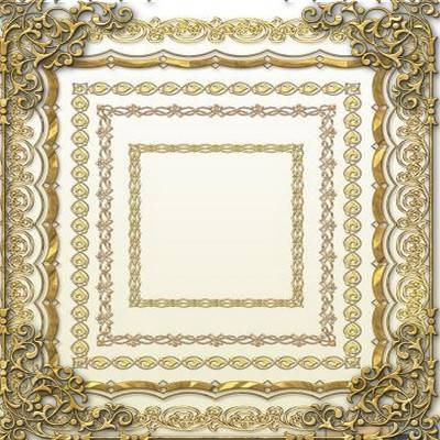 Decorative Gold Frames