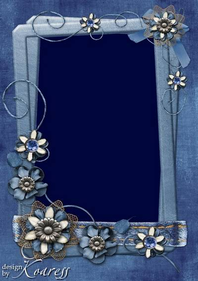 Photo frame - Vintage and Jeans