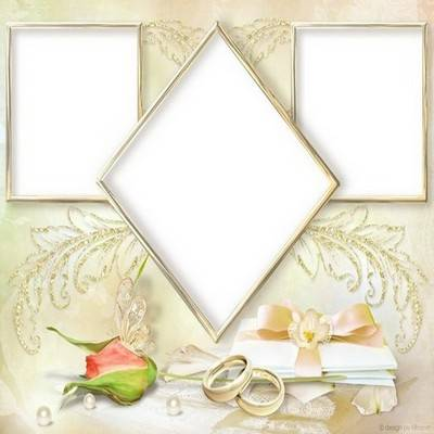 Сollection of four wedding framework - You give me happiness
