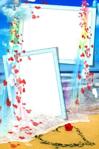 Collection  photo frames – About love