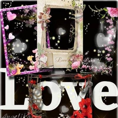 Collection Photoframes for Lovers - On Festival Love