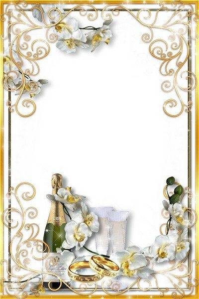 Love Frame — Wonderful Wedding Orchids