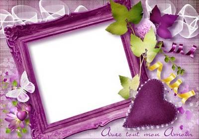 Romantic frame - Mon amour