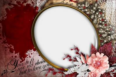 Romantic Photoframe - The Vampire Diaries