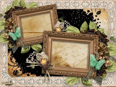 Frame for two photos  - Style tested by time