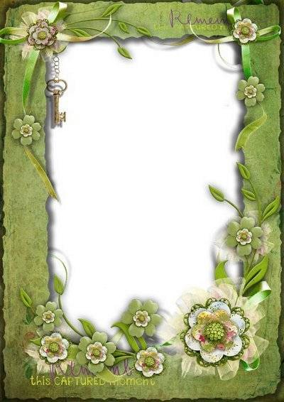 Photo frame for romantic photo - Vintage and tenderness