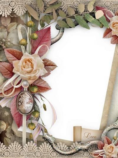 Frame for Photoshop - Remember the senses