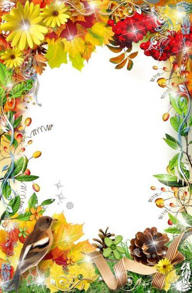 Frame for photo processing - Autumn charm 2