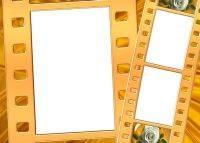 Gold Frames png format for Photoshop