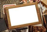 Pack high-quality vintage frame png format for photoshop - 10 PNG frames