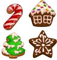 Free PNG images Christmas crackers, cookies, mascarpone - Free download