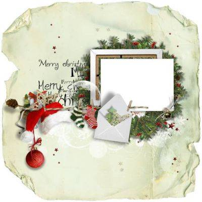 Winter png frames - New Year clipart 91 png