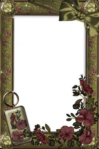 Frame for photos in the style of Vintage