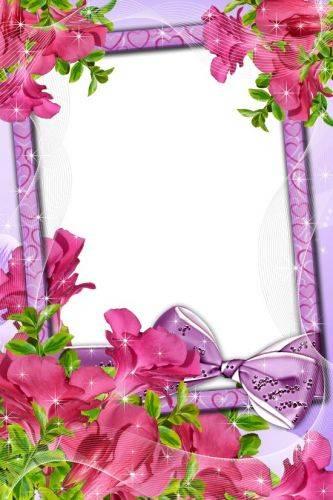 Set of flower framework for photo - Luxury