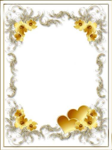 Free pack love photo frames in PNG formats for photo with inscriptions - I love you, with hearts and flowers - 25 PNG Frames download