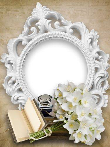 Set of two frames in vintage style - Memories