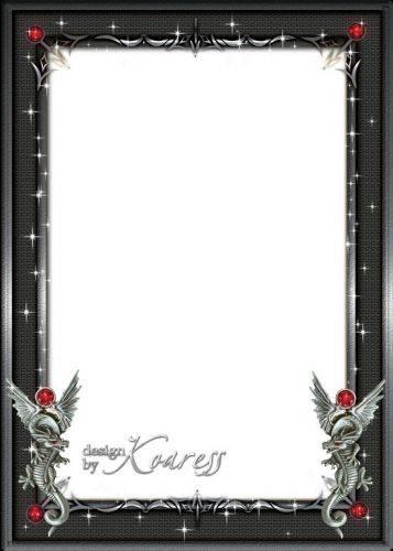 Set of photo frames for men - Metal