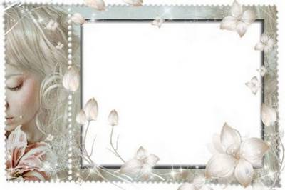 Collection photo frames png - Women caprice (4 PSD - 4 PNG)