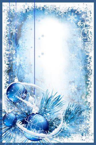 Photo frameCollection  photo frames –  Winter days