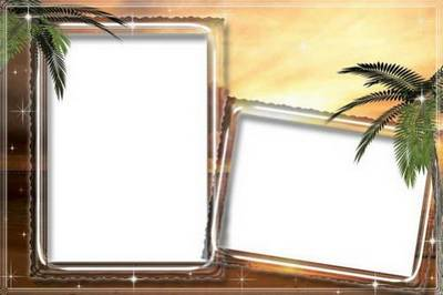 Collection of frames - Summer vacation