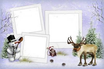 Collection of children's frames - Hello New Year