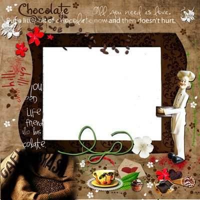 Рамка для фото Кофе и шоколад