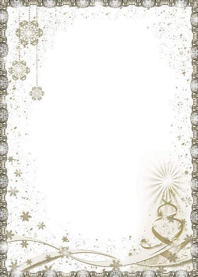 Photo frame - Silver shine of the New Year