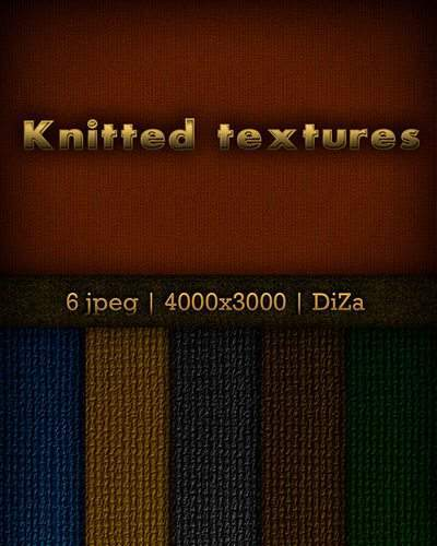 Knitted textures
