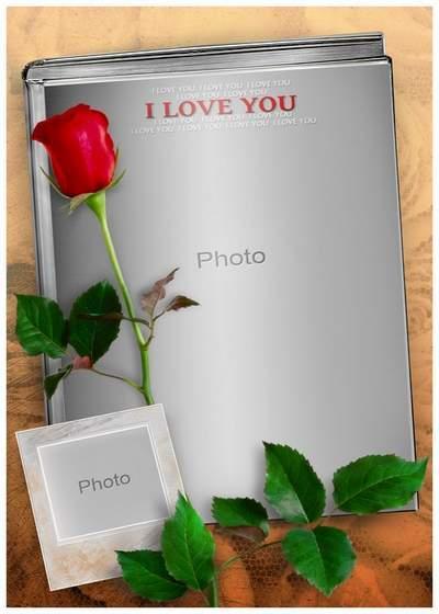 """Photo-frame """"Memorable Book"""" PSD"""