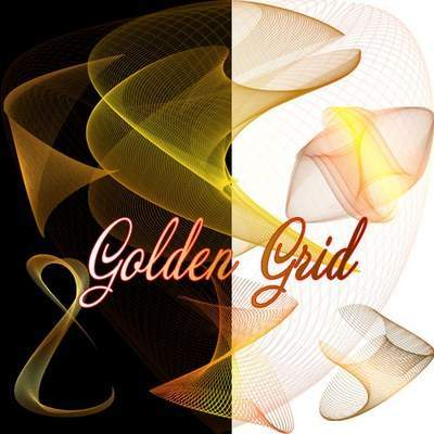 Golden abstract lines 11 PNG images transparent background