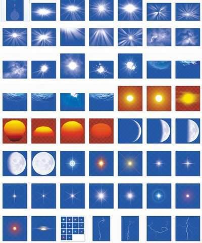 Big collection of natural phenomena (multi-layer PSD)