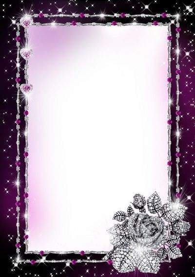 Glamour Photo Frame - Diamond shine