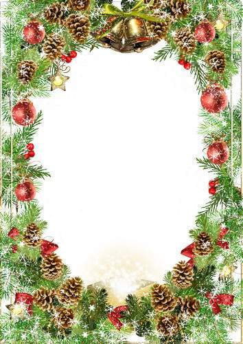 Collection of children's frames - My favorite New Year